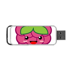 Raspberry Portable Usb Flash (one Side)