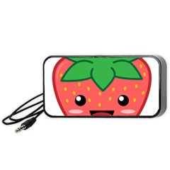 Kawaii Strawberry Portable Speaker (Black)