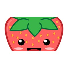 Kawaii Strawberry YOU ARE INVITED 3D Greeting Card (8x4)