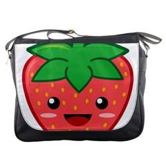 Kawaii Strawberry Messenger Bags