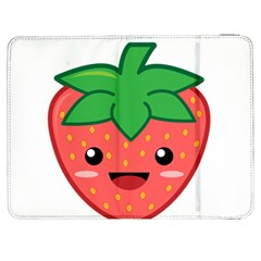 Kawaii Strawberry Samsung Galaxy Tab 7  P1000 Flip Case