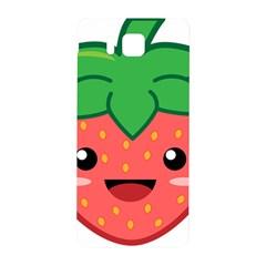 Kawaii Strawberry Samsung Galaxy Alpha Hardshell Back Case