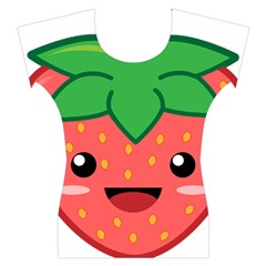 Kawaii Strawberry Women s Cap Sleeve Top