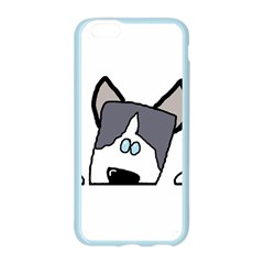 Peeping Siberian Husky Apple Seamless iPhone 6 Case (Color)