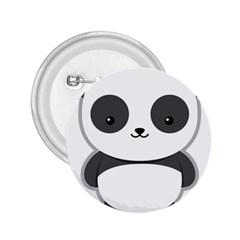 Kawaii Panda 2.25  Buttons