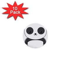 Kawaii Panda 1  Mini Buttons (10 pack)