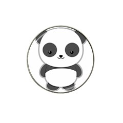 Kawaii Panda Hat Clip Ball Marker (10 pack)
