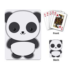 Kawaii Panda Playing Card