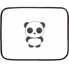 Kawaii Panda Fleece Blanket (mini)