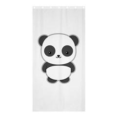 Kawaii Panda Shower Curtain 36  x 72  (Stall)