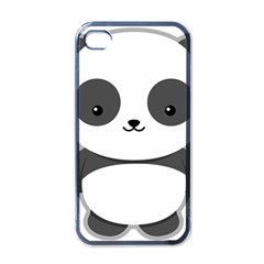 Kawaii Panda Apple iPhone 4 Case (Black)