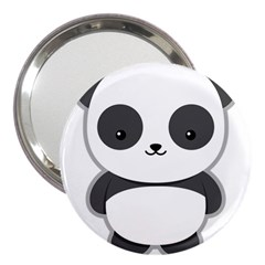 Kawaii Panda 3  Handbag Mirrors