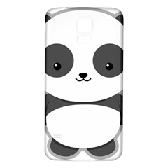Kawaii Panda Samsung Galaxy S5 Back Case (White)