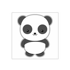 Kawaii Panda Satin Bandana Scarf