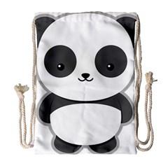 Kawaii Panda Drawstring Bag (Large)