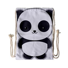 Kawaii Panda Drawstring Bag (Small)