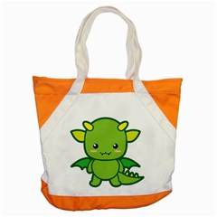 Kawaii Dragon Accent Tote Bag