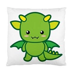 Kawaii Dragon Standard Cushion Case (One Side)