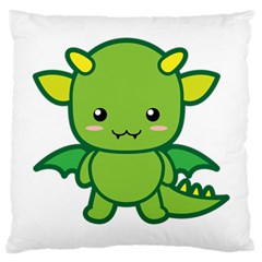 Kawaii Dragon Large Cushion Cases (Two Sides)