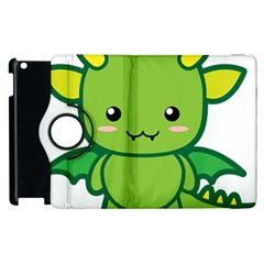 Kawaii Dragon Apple Ipad 3/4 Flip 360 Case
