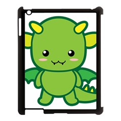 Kawaii Dragon Apple iPad 3/4 Case (Black)