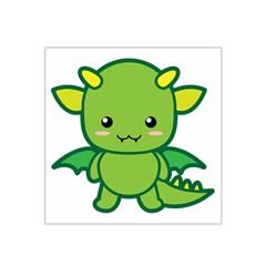 Kawaii Dragon Satin Bandana Scarf