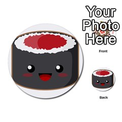 Kawaii Sushi Multi-purpose Cards (Round)