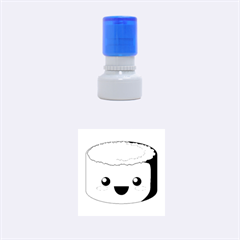 Kawaii Sushi Rubber Round Stamps (small)