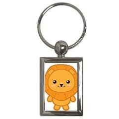 Kawaii Lion Key Chains (Rectangle)