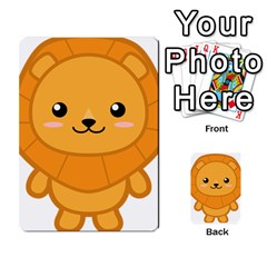 Kawaii Lion Multi-purpose Cards (Rectangle)