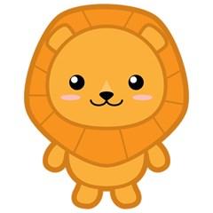 Kawaii Lion Magic Photo Cubes