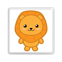 Kawaii Lion Memory Card Reader (Square)