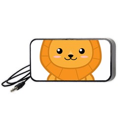 Kawaii Lion Portable Speaker (Black)