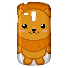 Kawaii Lion Samsung Galaxy S3 MINI I8190 Hardshell Case