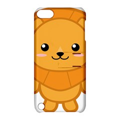 Kawaii Lion Apple iPod Touch 5 Hardshell Case with Stand