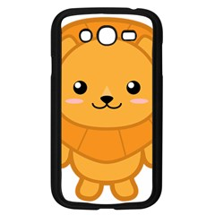 Kawaii Lion Samsung Galaxy Grand DUOS I9082 Case (Black)