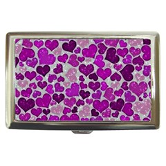 Sparkling Hearts Purple Cigarette Money Cases