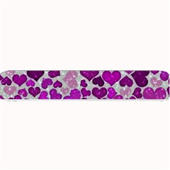 Sparkling Hearts Purple Small Bar Mats