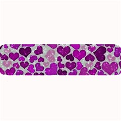 Sparkling Hearts Purple Large Bar Mats