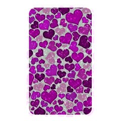 Sparkling Hearts Purple Memory Card Reader