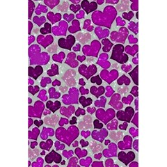 Sparkling Hearts Purple 5.5  x 8.5  Notebooks