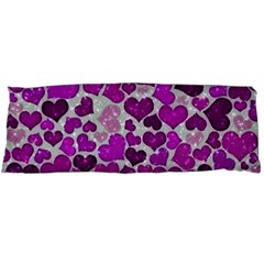 Sparkling Hearts Purple Body Pillow Cases (Dakimakura)