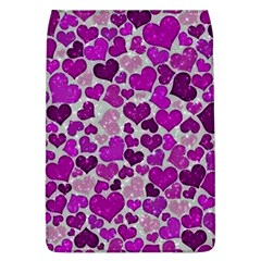 Sparkling Hearts Purple Flap Covers (L)