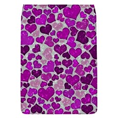 Sparkling Hearts Purple Flap Covers (S)