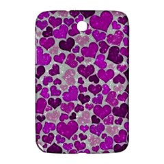 Sparkling Hearts Purple Samsung Galaxy Note 8.0 N5100 Hardshell Case