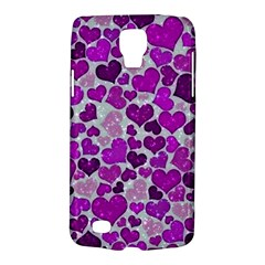 Sparkling Hearts Purple Galaxy S4 Active