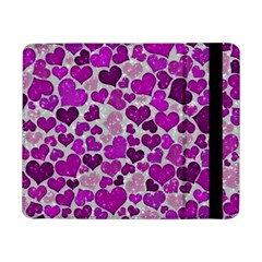 Sparkling Hearts Purple Samsung Galaxy Tab Pro 8.4  Flip Case
