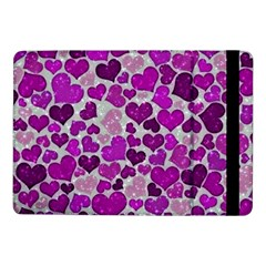 Sparkling Hearts Purple Samsung Galaxy Tab Pro 10.1  Flip Case