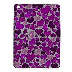 Sparkling Hearts Purple iPad Air 2 Hardshell Cases