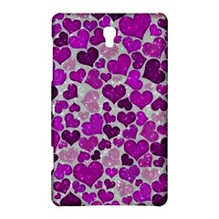 Sparkling Hearts Purple Samsung Galaxy Tab S (8.4 ) Hardshell Case